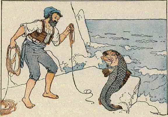 the fisherman and his wife The fisherman and his wife grimm, jacob and wilhelm 1909-14 household tales the harvard classics.